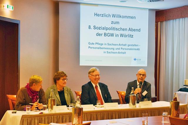 8. Sozialpolitischer Abend in Wörlitz