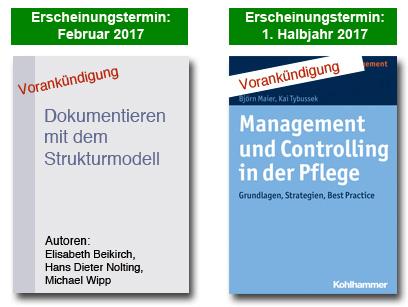 Vorankündigung Fachbücher für die Pflege