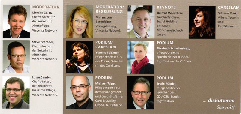 Podiumsdiskussion Altenheim 2017