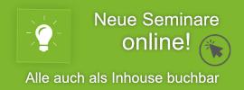 Neue Seminare online