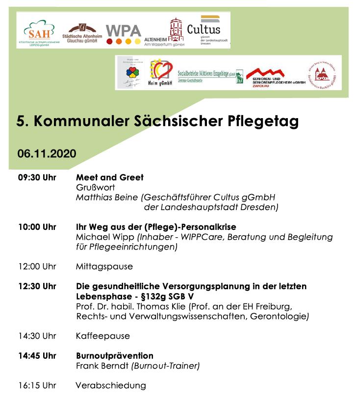 5. Kommunaler Sächsischer Pflegetag