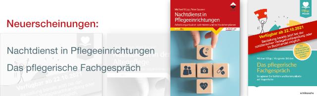Neuerscheinungen Pflegefachbücher 2021
